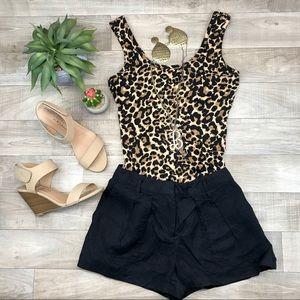 Pants - ABS Platinum black dress shorts size 8
